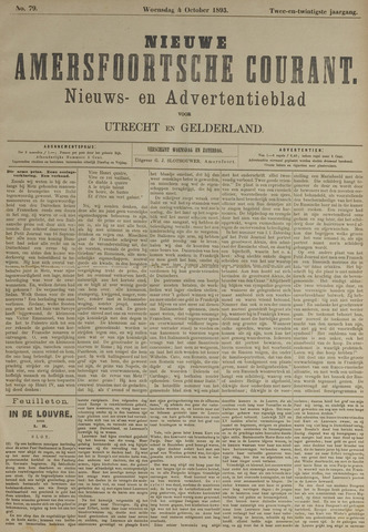 Nieuwe Amersfoortsche Courant 1893-10-04