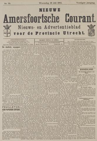 Nieuwe Amersfoortsche Courant 1911-07-12