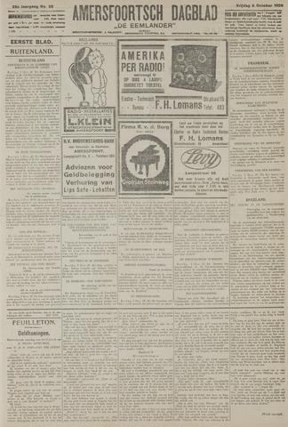 Amersfoortsch Dagblad / De Eemlander 1926-10-08