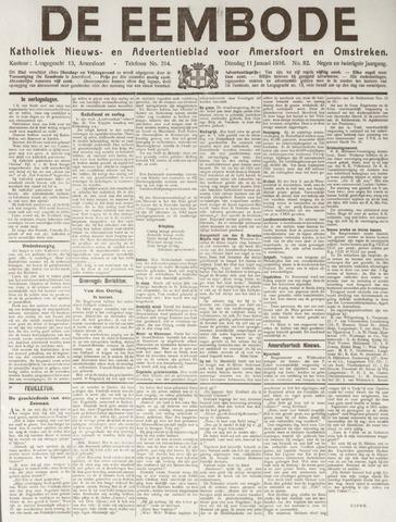 De Eembode 1916-01-11