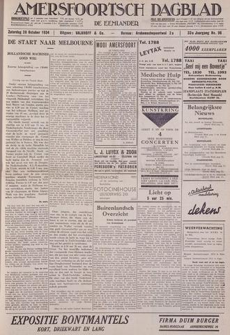 Amersfoortsch Dagblad / De Eemlander 1934-10-20
