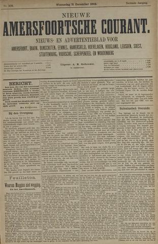 Nieuwe Amersfoortsche Courant 1884-12-31