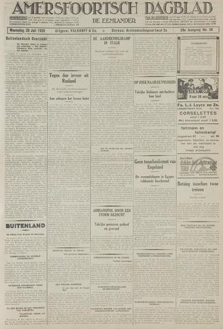 Amersfoortsch Dagblad / De Eemlander 1930-07-30