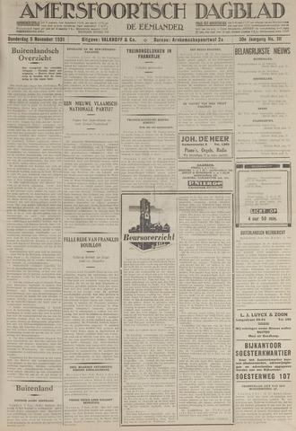 Amersfoortsch Dagblad / De Eemlander 1931-11-05