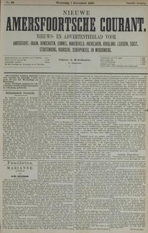 Nieuwe Amersfoortsche Courant 1883-11-07