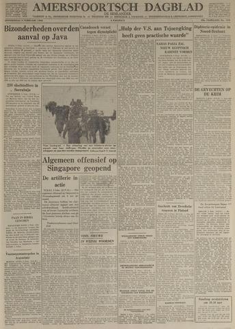 Amersfoortsch Dagblad / De Eemlander 1942-02-05