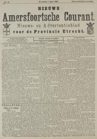 Nieuwe Amersfoortsche Courant 1909-04-07