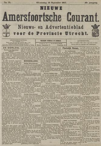 Nieuwe Amersfoortsche Courant 1917-09-19