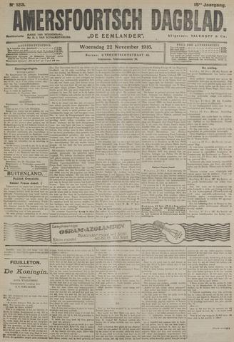 Amersfoortsch Dagblad / De Eemlander 1916-11-22