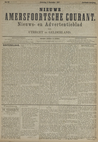 Nieuwe Amersfoortsche Courant 1887-12-03