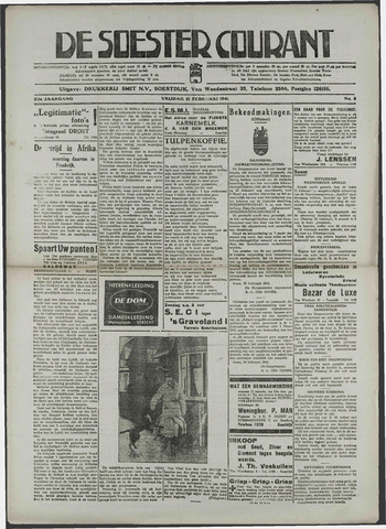 Soester Courant 1941-02-21