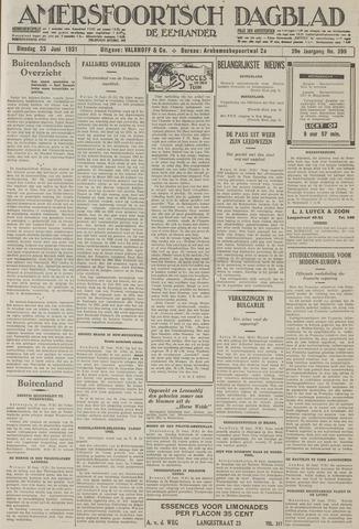 Amersfoortsch Dagblad / De Eemlander 1931-06-23