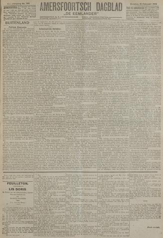 Amersfoortsch Dagblad / De Eemlander 1919-02-18