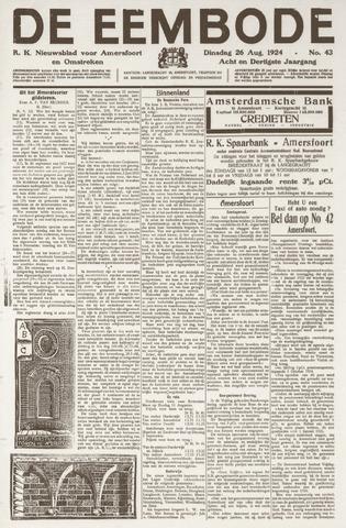 De Eembode 1924-08-26