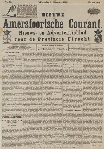 Nieuwe Amersfoortsche Courant 1913-12-03