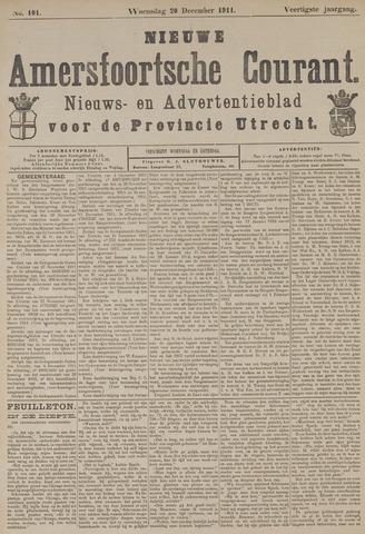 Nieuwe Amersfoortsche Courant 1911-12-20