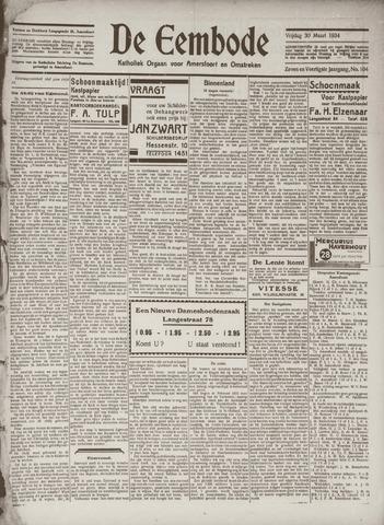 De Eembode 1934-03-30