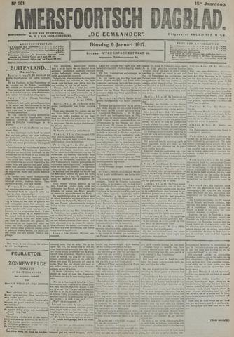 Amersfoortsch Dagblad / De Eemlander 1917-01-09