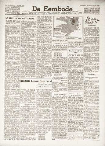 De Eembode 1941-08-14