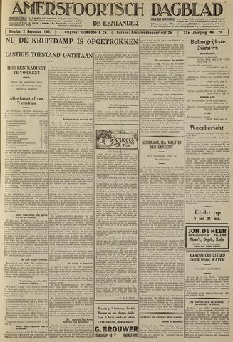 Amersfoortsch Dagblad / De Eemlander 1932-08-02