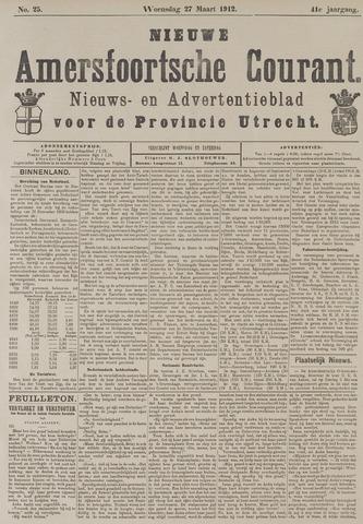 Nieuwe Amersfoortsche Courant 1912-03-27