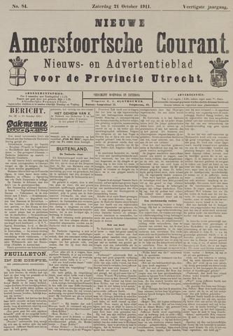 Nieuwe Amersfoortsche Courant 1911-10-21