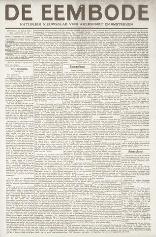 De Eembode 1921-07-12