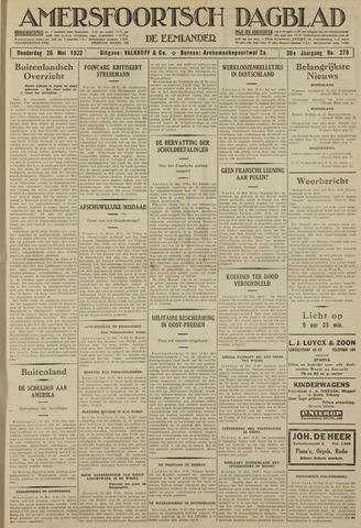Amersfoortsch Dagblad / De Eemlander 1932-05-26