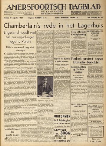 Amersfoortsch Dagblad / De Eemlander 1939-08-29