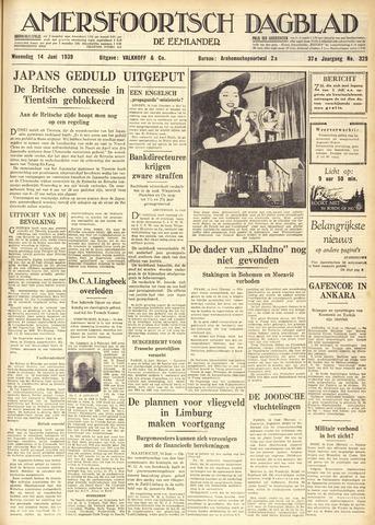 Amersfoortsch Dagblad / De Eemlander 1939-06-14