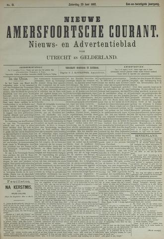 Nieuwe Amersfoortsche Courant 1892-06-25