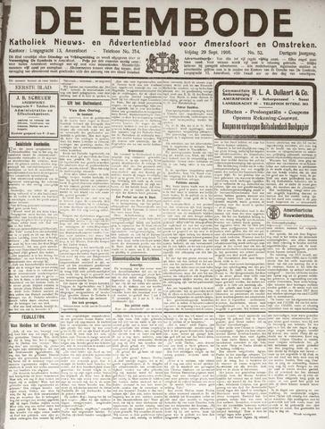 De Eembode 1916-09-29