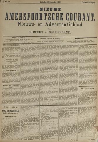 Nieuwe Amersfoortsche Courant 1887-12-31
