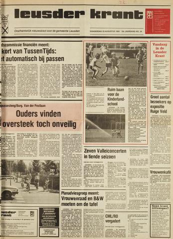 Leusder Krant 1984-08-23