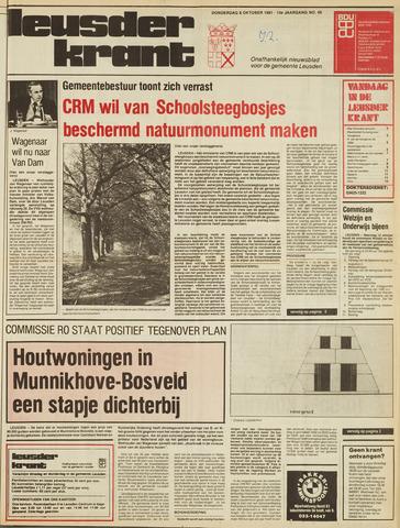 Leusder Krant 1981-10-08