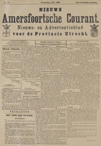 Nieuwe Amersfoortsche Courant 1906-05-02