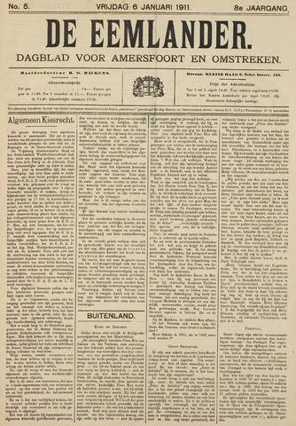 De Eemlander 1911-01-06