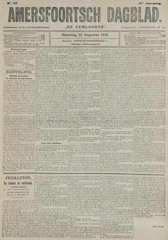 Amersfoortsch Dagblad / De Eemlander 1913-08-25