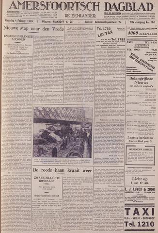 Amersfoortsch Dagblad / De Eemlander 1935-02-04