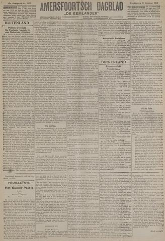 Amersfoortsch Dagblad / De Eemlander 1918-10-31