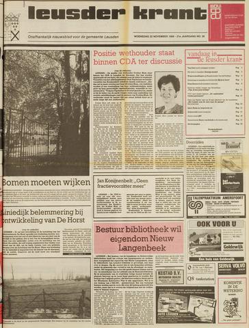 Leusder Krant 1989-11-22