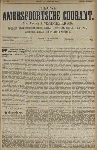 Nieuwe Amersfoortsche Courant 1884-12-06