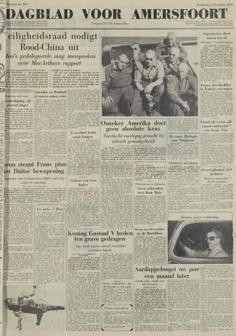 Dagblad voor Amersfoort 1950-11-09