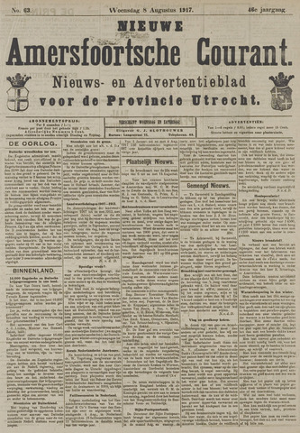 Nieuwe Amersfoortsche Courant 1917-08-08