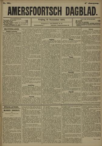 Amersfoortsch Dagblad 1905-11-10