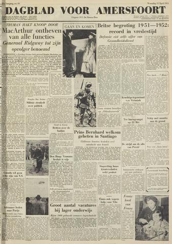 Dagblad voor Amersfoort 1951-04-11
