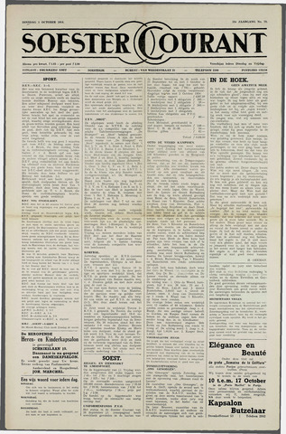 Soester Courant 1954-10-05