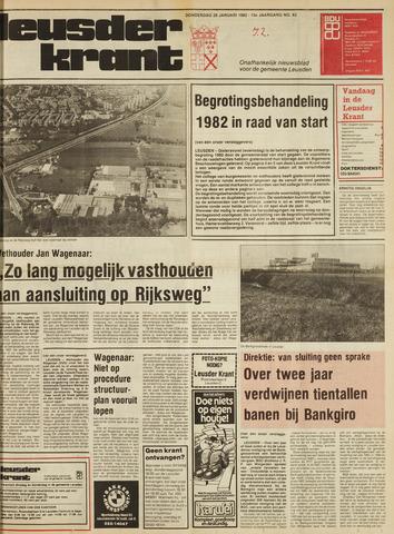 Leusder Krant 1982-01-28