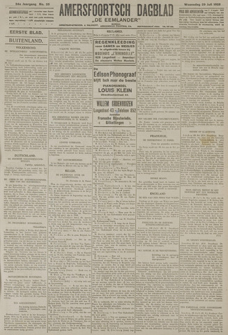 Amersfoortsch Dagblad / De Eemlander 1925-07-29