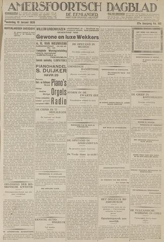 Amersfoortsch Dagblad / De Eemlander 1929-01-10